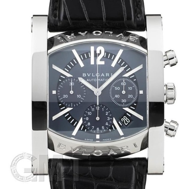 f23df134ee ブルガリ アショーマ クロノグラフ AA48C14SLDCH BVLGARI 【新品】【メンズ】 【腕時計】 【