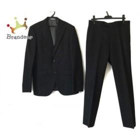 ニコルクラブ NICOLE CLUB シングルスーツ サイズ48 XL メンズ ダークネイビー ストライプ   スペシャル特価 20190901