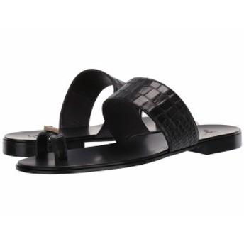 ジュゼッペザノッティ メンズ サンダル シューズ Orlando Croc Embossed Sandal Zanzaroun Nero