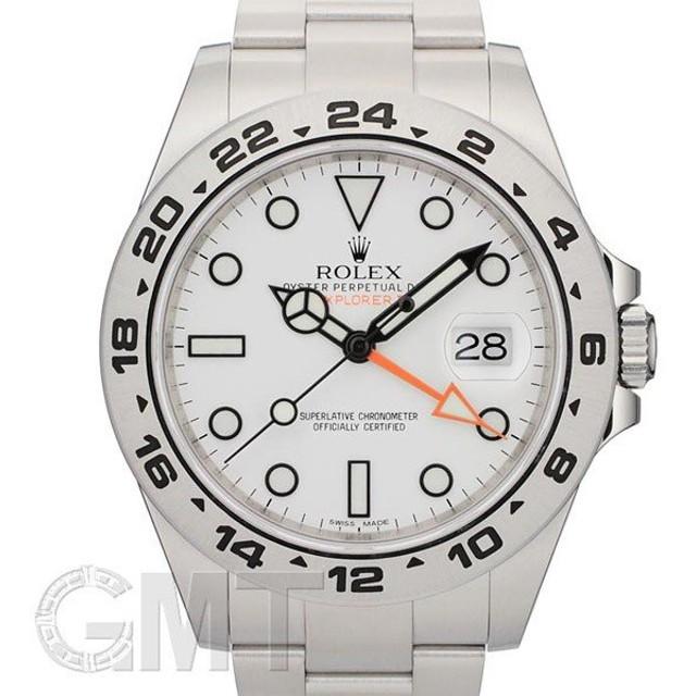 new style ffe43 76d13 ロレックス エクスプローラー II Ref.216570 ホワイト ROLEX ...
