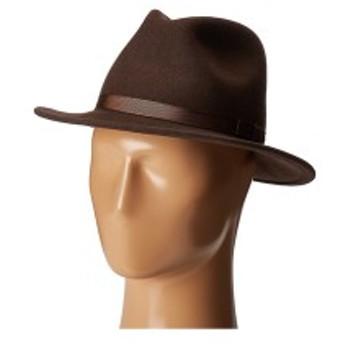 カントリージェントルマン メンズ 帽子 アクセサリー Wilton Wool Fedora Hat Brown
