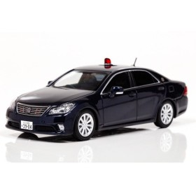 HL431404 1/43 クラウンGRS202 2014大阪府警高速道路交通警察隊車両