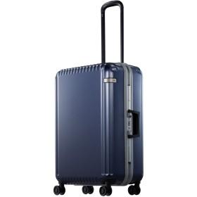 【オンワード】 ACE BAGS & LUGGAGE(エースバッグズアンドラゲージ) ace. パリセイドF 61L スーツケース 4~5日間のご旅行に フレーム 05 ネイビー F レディース 【送料無料】