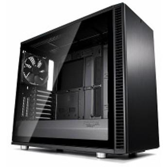 FractalDesign FD-CA-DEF-S2-BKO-TGL [Define S2 - Blackout Tempered Glass]オープンレイアウトのケースデザイン。強化ガラスを採用し