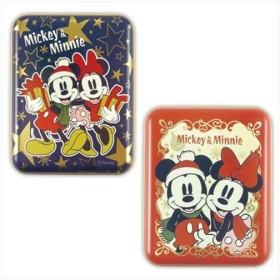 ミッキー&ミニー 角缶inソフトチョコレート グッズ クリスマス お菓子 キャラクター ディズニー ハート かわいい