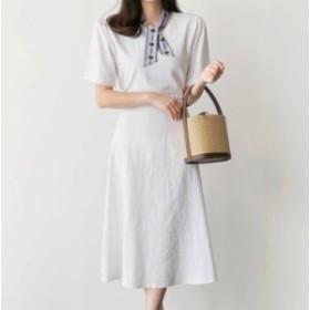ワンピース 大きいサイズ ゆったり 春ワンピース 春 韓国 ファッション レディース 韓国 レディース ファッション ワンピース 新作 トレ