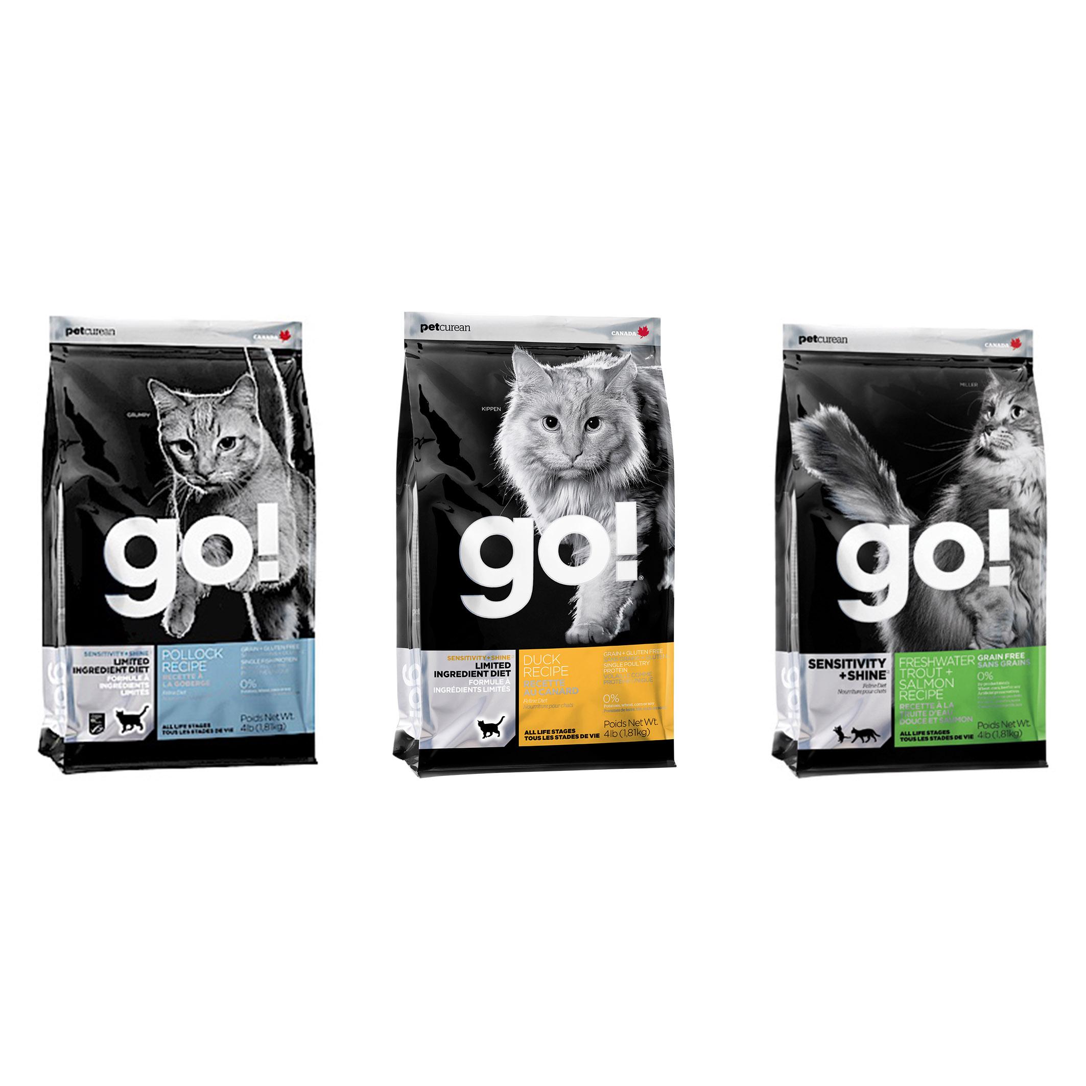 GO!低致敏無穀配方系列16磅(7.2kg) (鱒魚/鴨肉/鱈魚)