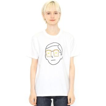 [マルイ] 【ユニセックス】Tシャツ/パンの人(takesick(PanicJunkie))/グラニフ(graniph)