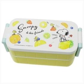お弁当箱 フルーツ ピーナッツ 日本製 スヌーピー キャラクター グッズ カミオジャパン 300ml 300ml
