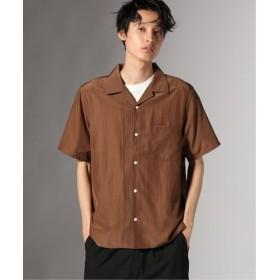 JOURNAL STANDARD Andyトリアセテート オープンカラーシャツ ブラウン M