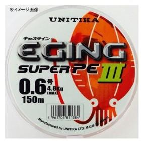 ルアー釣り用PEライン ユニチカ キャスライン エギングスーパーPE III 150m 0.8号