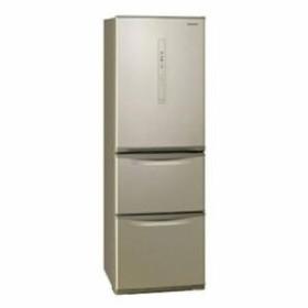 パナソニック 3ドア冷蔵庫 (365L・左開き) シルキーゴールド NR-C370CL-N(配送設置無料/時間指定不可)【納期目安:約2〜3週間】
