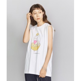ビューティ&ユース ユナイテッドアローズ <maegamimami>GIRL ノースリーブTシャツ レディース WHITE FREE 【BEAUTY & YOUTH UNITED ARROWS】
