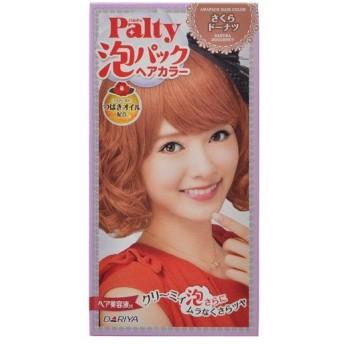 パルティ 泡パックヘアカラー さくらドーナツ 1組 1剤:75ml、2剤:75ml