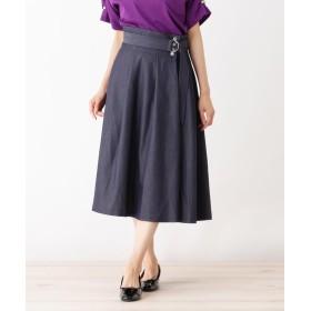 HusHusH(Ladies)(ハッシュアッシュ(レディース)) ◆シャンブレースカート