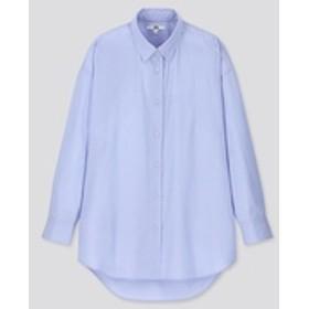 エクストラファインコットンオーバーサイズロングシャツ(長袖)