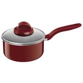 ティファール 片手鍋 ソースパン 「ディフューザル」 ルージュ 18cm D04423