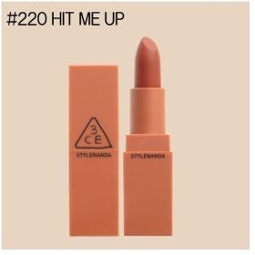 【3CE】(スリーコンセプトアイズ) ムードレシピマットリップカラー #220 HIT ME UP(3.5g) ※国内発送