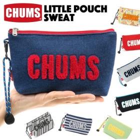 チャムス CHUMS ポーチ Little Pouch Sweat リトルポーチ スウェット