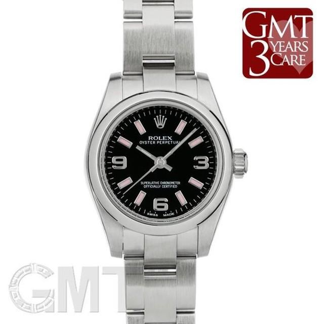 buy online 0170a 29fbf ロレックス オイスターパーペチュアル 176200 ブラック369 ...