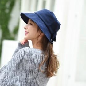 マルイの帽子(MARUI CAPS & HATS)/【アウトレット】【選べる3サイズ・手洗いOK・たためる・サイズ調整可能】バックリボンハット