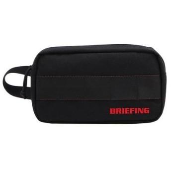 ブリーフィング(BRIEFING) シングルジップポーチ BRG191A10-010 (Men's)