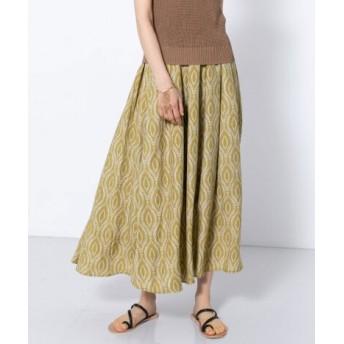 SENSE OF PLACE(センスオブプレイス) スカート スカート エスニックパターンマキシスカート