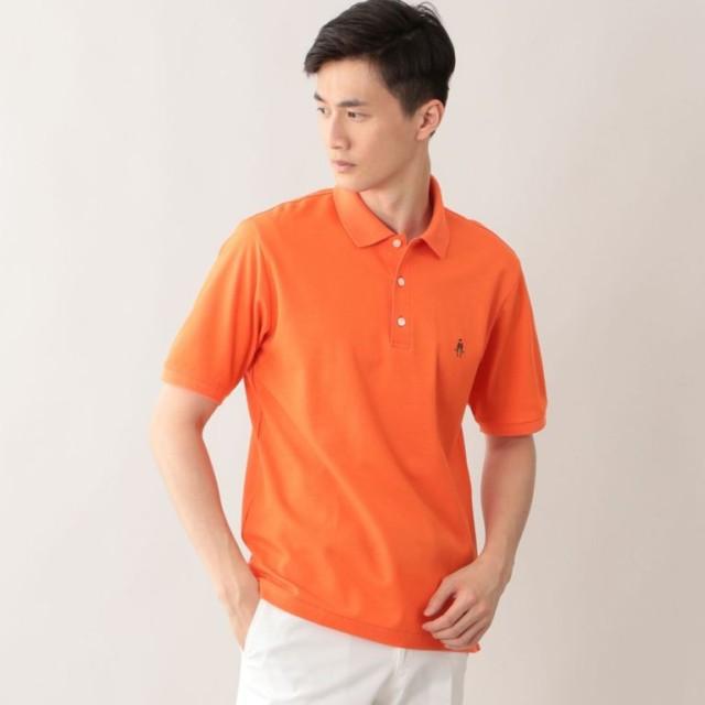 SALE【ポール・スチュアート メン(Paul Stuart MEN)】 アイコンポロシャツ オレンジ系