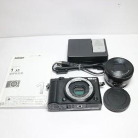 新品同様 Nikon 1 J5 標準パワーズームレンズキット ブラック 中古本体 安心保証 即日発送 ミラーレス一眼 Nikon 本体