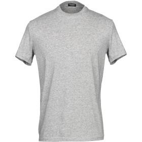 《セール開催中》DSQUARED2 メンズ アンダーTシャツ ライトグレー S コットン 95% / ポリウレタン 5%