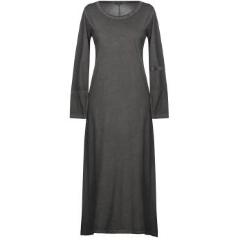 《期間限定セール開催中!》CROSSLEY レディース 7分丈ワンピース・ドレス ブラック XS コットン 100%