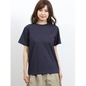 (TAKA-Q/タカキュー)ビバリーヒルズ ポロクラブ/BEVERLY HILLS POLO CLUB ワンポイント刺繍半袖Tシャツ/レディース ブラック