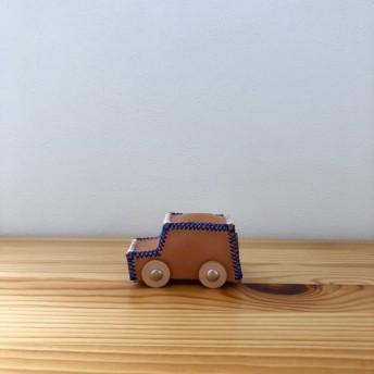 本革ミニカー / Blue