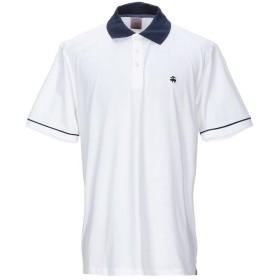 《期間限定セール開催中!》BROOKS BROTHERS メンズ ポロシャツ ホワイト S コットン 100%