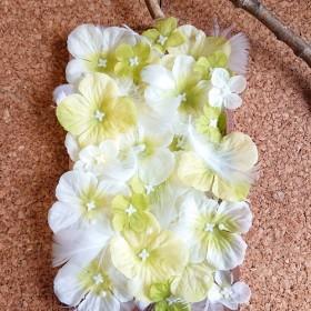 パステル紫陽花の壁掛け
