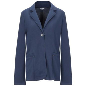 《9/20まで! 限定セール開催中》LIU JO レディース テーラードジャケット ブルー XL 60% ポリエステル 40% コットン