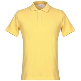 《セール開催中》PEUTEREY メンズ ポロシャツ イエロー S コットン 100%