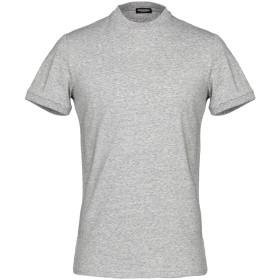 《期間限定 セール開催中》DSQUARED2 メンズ アンダーTシャツ ライトグレー M コットン 95% / ポリウレタン 5%