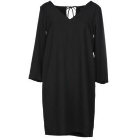 《セール開催中》OTTOD'AME レディース ミニワンピース&ドレス ブラック 42 ポリエステル 97% / ポリウレタン 3%
