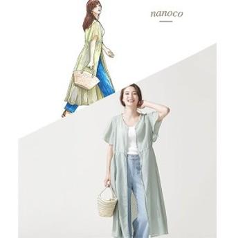 ナノ・ユニバース(レディース)(nano universe)/【nanoco】/ジャガードシフォン前後2WAYワンピース