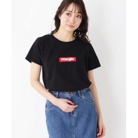 【10%OFF】 シューラルー ロゴTシャツ レディース ブラック(019) 02(M) 【SHOO・LA・RUE】 【タイムセール開催中】