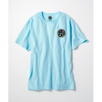 MAUI & Sons バックロゴプリントTシャツ メンズ ブルー
