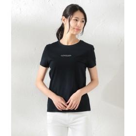 【40%OFF】 ラブレス WOMEN ポリクレストLOGOTシャツ レディース ネイビー 38 【LOVELESS】 【セール開催中】