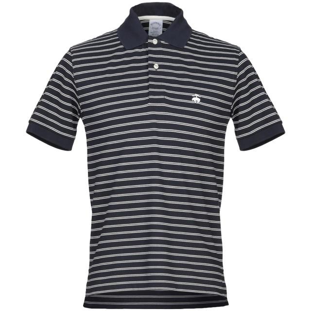 《セール開催中》BROOKS BROTHERS メンズ ポロシャツ ダークブルー S コットン 100%