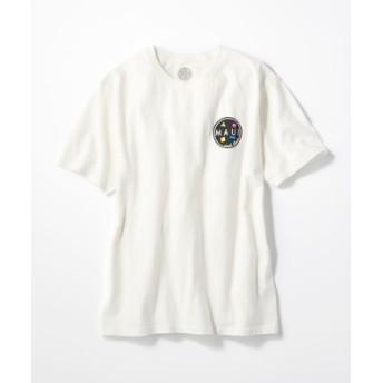 MAUI & Sons バックロゴプリントTシャツ メンズ ホワイト