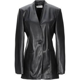 《セール開催中》RAME レディース テーラードジャケット ブラック 44 ポリエステル 50% / ポリウレタン 50%