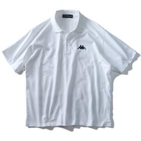 ポロシャツ - 大きいサイズの店ビッグエムワン 大きいサイズ メンズ Kappa プリント 半袖 ポロシャツ 春夏新作 kpt-955z