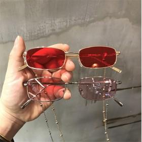 コーデのポイントに 眼鏡 偏光サングラス UVケア UVカット 紫外線カッ カップルメガネ レトロなメタルサングラス