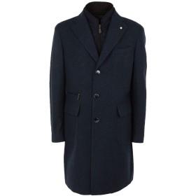 《期間限定セール開催中!》LUIGI BIANCHI Mantova メンズ コート ダークブルー 52 ウール 100%