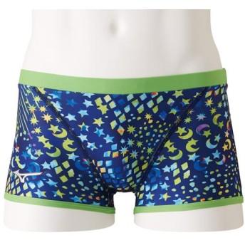 MIZUNO SHOP [ミズノ公式オンラインショップ] 競泳練習用【Rikako Ikee Collection】ショートスパッツ[メンズ] 14 ネイビー N2MB9563